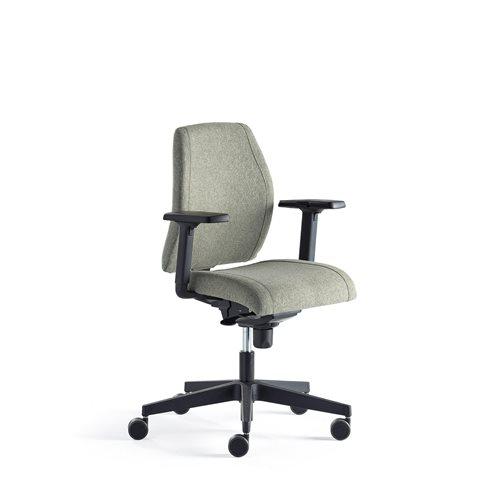 Aj Produkty Krzesło Biurowe Alford Z Podłokietnikami Zielone